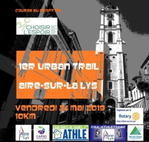 Urban Trail à Aire sur la Lys 2019