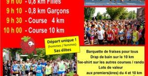 Jogging des Fraises - Verlinghem 2019