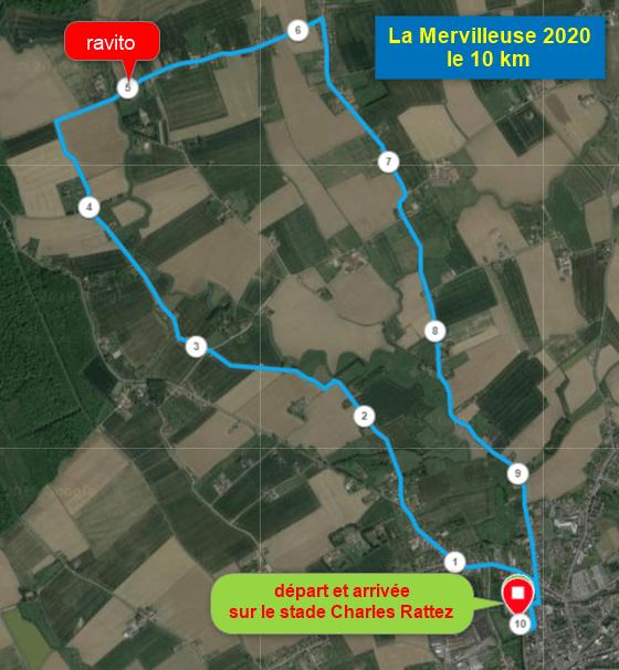 1ère reconnaissance La Mervilleuse 2020