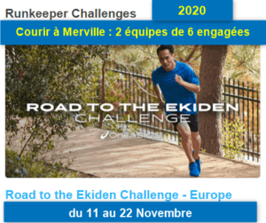 Challenge Asics World Ekiden du 11 au 22 novembre 2020